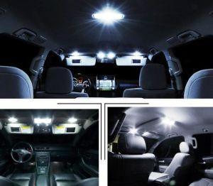 Alquiler de Auto Exterior Interior de la cúpula blanca de luz LED de la lectura de mapas