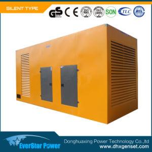 Энергопотребление в режиме ожидания 330ква двигатель Cummins Silent дизельных генераторных установках