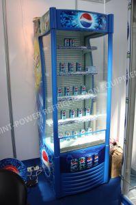 De Showcase van de Frisdrank van de Ijskast van de Vertoning van het Sap van de Drank van de supermarkt