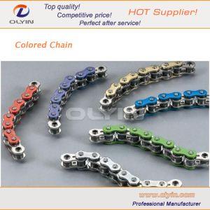 415H, 420h de la chaîne de moto de couleur pour les pièces du moteur