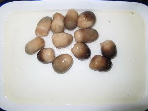 Alimenti dell'indennità inscatolati grado superiore del fungo di paglia