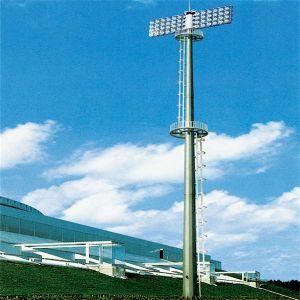 Las luces al aire libre del mástil de 30 m de alto brillo con 2000W de halogenuros metálicos de proveedor de luz