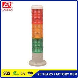 Capas de la torre de advertencia de 3LED de luz intermitente Ce RoHS ISO9001