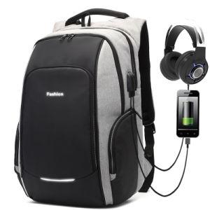 Nij III como reflejo de la seguridad contra robo de carga USB Bolsa Mochila para portátil de viaje de negocios