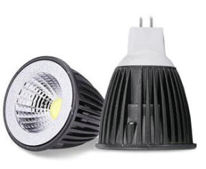 12V 5W MR16 COB LED Lamp mit Black House Color