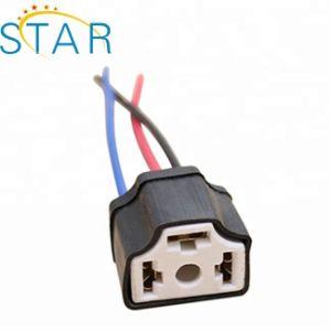 Soquete do Carro H4 9003 Hb2 Lâmpada LED com lâmpadas de xénon Veículo Pigtail fêmea do conector do Farol Conecte o chicote elétrico do fio do adaptador