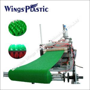 Tapete de grama de plástico fábrica máquinas PISO, TAPETE DE GRAMA a linha de produção de LDPE / máquina extrusora