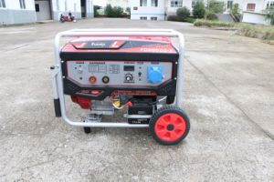Alta calidad de 5kw de potencia de Honda Motor de gasolina de soldadura en silencio