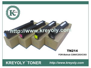 Konica-Minolta TN-214 Farben-Toner FÜR Bizhub C200/C253/C353/C200E