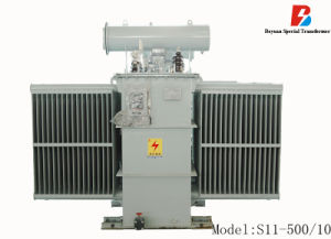 Distribución sumergidos en aceite Transformador de potencia