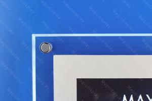 LEDの額縁メニューボードのライトボックス(MDCLB-A1)