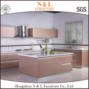 N&L Furntiure hohe Glanz-Lack-Küche-Schrank-Holz-Küche-Möbel