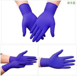 De economische schaal-Greep van de Weerstand van de Handschoen van het Nitril Chemische en Mechanische