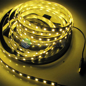 Luz de tira flexível SMD5050 do diodo emissor de luz 60LEDs/M 14.4W