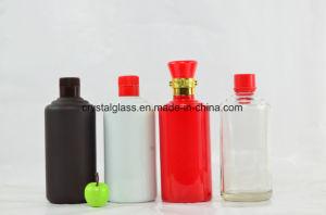 Sprühalkohol-u. Spiritus-Glaswein-Flasche