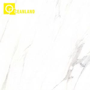 Los grandes proyectos de color blanco Acabado en esmalte antideslizante suelo de baldosas de cerámica
