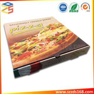 개인화하는 재생해 포장 백색 판지 상자에 의하여 주름을 잡은 피자 상자를 인쇄한