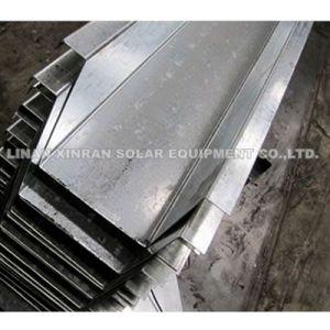 Tubo di Downpout della grondaia utilizzato tetto d'acciaio del metallo che forma macchinario