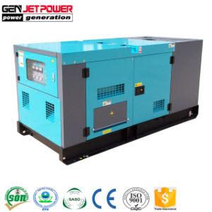 水によって冷却される10kVA 15kVA 25kVA 30kVAの防音のディーゼル発電機