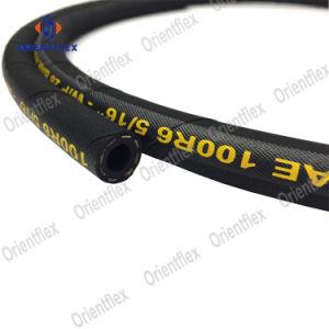 Elevado Limite Elástico trançado de têxteis de borracha hidráulico SAE 100R6 / R3