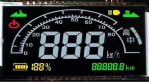 7 Visor LCD do segmento 3 Fios LCD TN de série