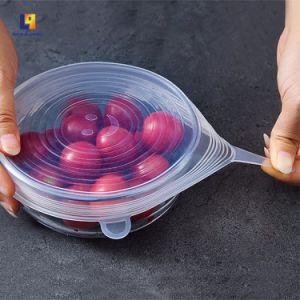 カスタムサイズの台所機器のシリコーンの生鮮食品カバー