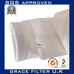 Filtre à poussière Sac médias filtrants en fibre de verre en PTFE