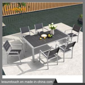 Стол и стул из алюминия патио с садом открытый обеденный Набор мебели