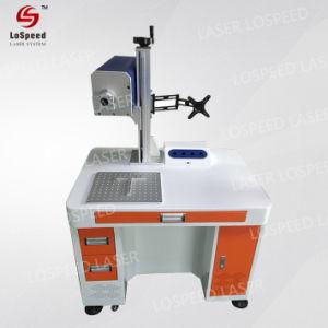 De Laser die van het Systeem van de Vensters van de steun de Graveur van het Type van Laser van de Vezel van de Machine merken