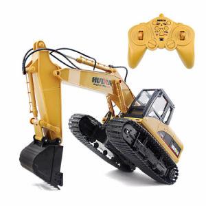 Het Graafwerktuig van het Kruippakje RC van het Stuk speelgoed van de Techniek van de Machine van de Klauw van het Stuk speelgoed van het Voertuig van de bouw
