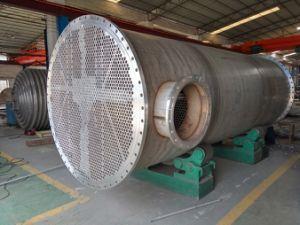 単純構造のシェルおよび管の熱交換器