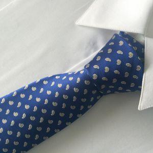 新しいデザイン流行のダイヤモンドの様式によって編まれる絹のネクタイ