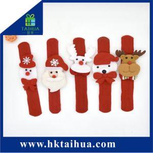 Regalo di natale della decorazione dei braccialetti, del Babbo Natale, del pupazzo di neve e della renna di schiaffo