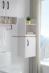 La pintura blanca de madera contrachapada de muebles de baño armario de la cuenca del gabinete de vanidades de MDF RM8823