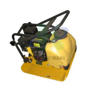 5.5HP Honda Gx160 엔진 진동하는 유압 토양 쓰레기 압축 분쇄기
