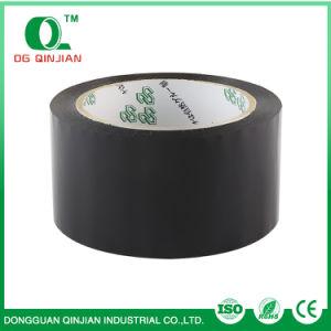 De zwarte Gekleurde Band van de Verpakking BOPP met Aangepast