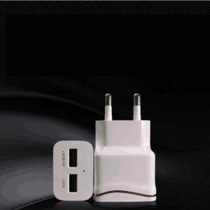 Doble cargador USB universal Cargador de pared Viajes Teléfono móvil