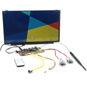 Alto brilho 15.6 polegadas Monitor LCD de estrutura aberta controlo remoto Publicidade Android Player Módulo de vídeo de tela grande