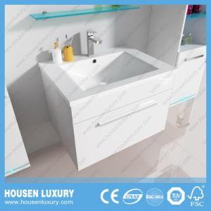 Meubles de style Eurpean Salle de bains avec LED bleu côté des feux de Cabinet et miroir grossissant1104-600 HS-M