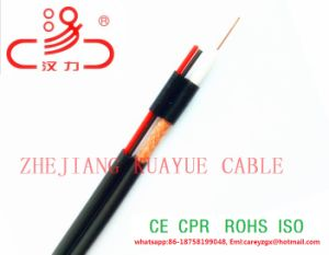 Cavo coassiale Rg59 + cavo elettrico di 2 memorie per la videocamera