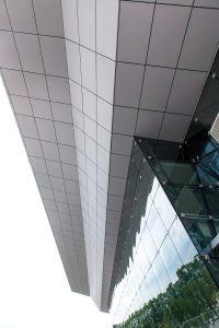 Haute qualité acoustique extérieur/intérieur panneau mural en aluminium /mur-rideau/les carreaux de plafond