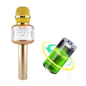 디스코 빛 전화 홀더 KTV Mic 음악 Karaoke 장치를 가진 무선 Karaoke 마이크 E106 휴대용 Bluetooth 스피커 Mikrofon
