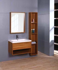 Moderner MDF-Badezimmer-Schrank mit Melamin-Ende