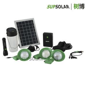 6W Région rurale des trousses de demande d'accueil système d'alimentation solaire