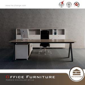 Исполнительный Менеджер таблица V-образную форму ноги конторской мебели (HC-Dizhi)