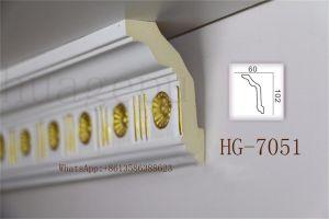 Cornice por atacado do plutônio Crwon da alta qualidade que molda para a decoração do teto/porta/parede