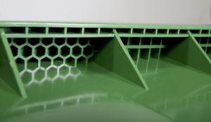 Produits en plastique de la litière des déchets Bin Wastebin en plastique (SP-15)