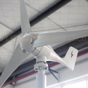 Génératrice éolienne horizontale 300W 12V 24V avec contrôleur de charge et inverseur 1000W