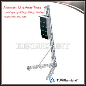 PAタワーのアルミニウムラインアレイスピーカーの立場