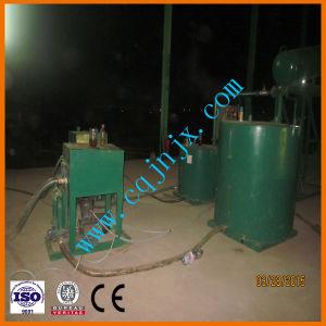 Máquina de tratamiento de residuos de petróleo a nivel de aceite combustible diesel